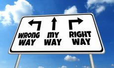 there is no wrong way